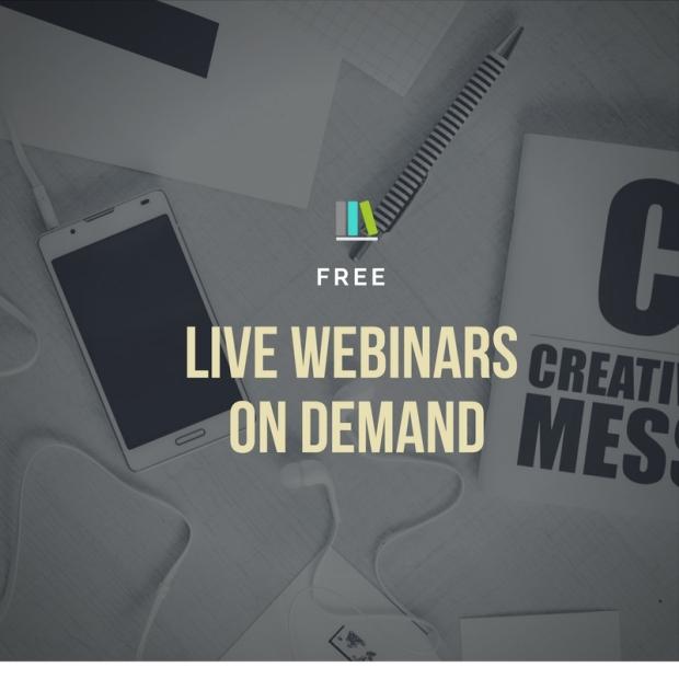 Webinar free live webinar poster